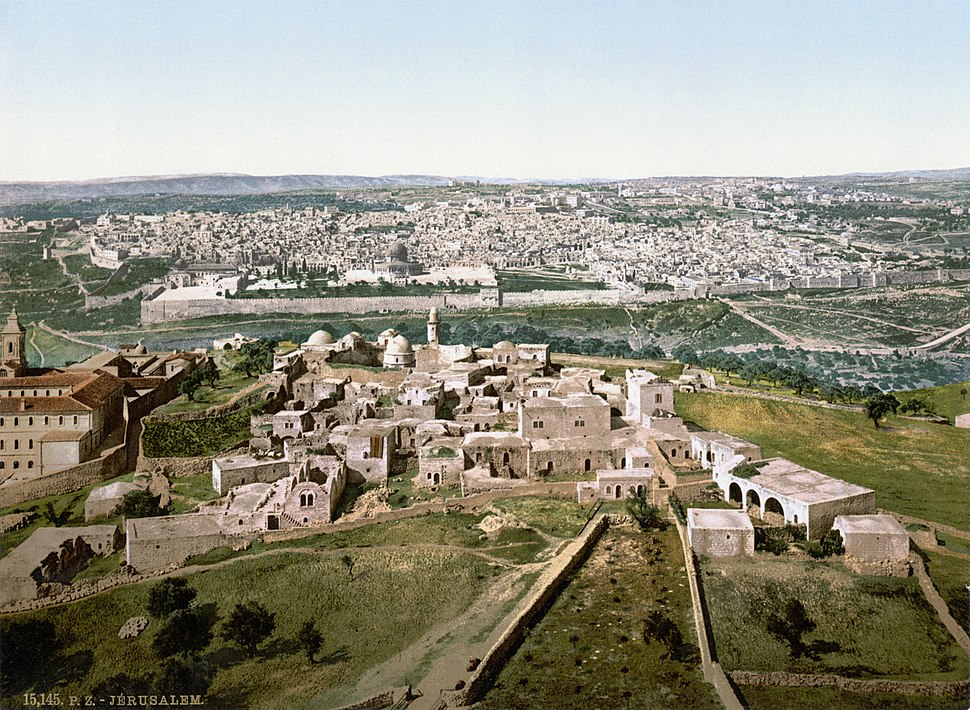 Jerusalem um 1900