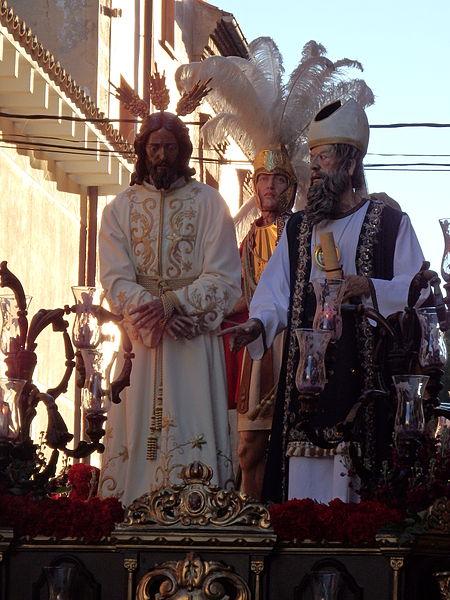 File:Jesús Redentor ante Caifás.JPG