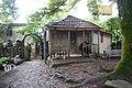 Jikheti monastery old wooden house.jpg