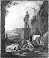 Johann Heinrich Roos - Viehherde vor einer antiken Statue - 6316 - Bavarian State Painting Collections.jpg