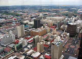 History of Johannesburg aspect of history