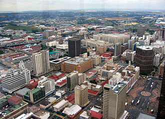 Economy of South Africa - Johannesburg