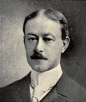 John Carew Rolfe - Picture of Rolfe from the 1902 Michiganensian