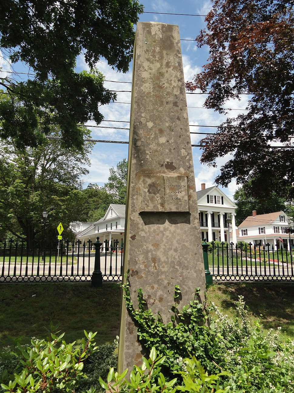 John Eliot monument - South Natick, MA - DSC09577