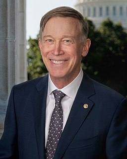 John Hickenlooper United States Senator from Colorado