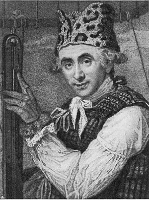 Caroline Watson - John Jeffries, portrait engraving by Caroline Watson