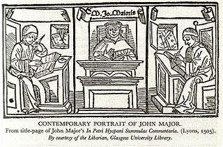 John Major (philosopher) Scottish philosopher