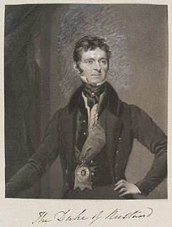 John Manners, 5th Duke of Rutland English Duke