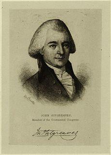 John Sitgreaves American judge