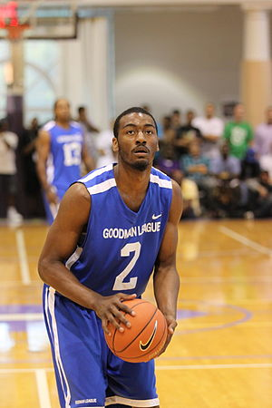 John Wall (basketball) - John Wall shooting a free throw at Drew-Goodman League