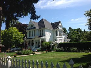National Register of Historic Places listings in Sanilac County, Michigan - Image: John l. Read House 01