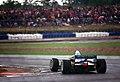 Johnny Herbert - Benetton B195 at Silverstone, British GP 1995 (49684425471).jpg