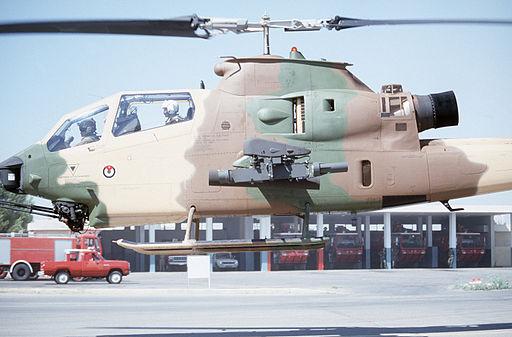 Jordanian AH-1 Cobra