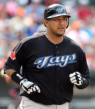 José Molina (baseball) - Molina with the Blue Jays.