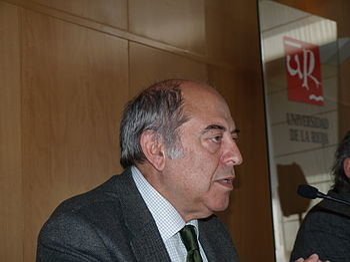 English: The philosopher José Antonio Marina a...