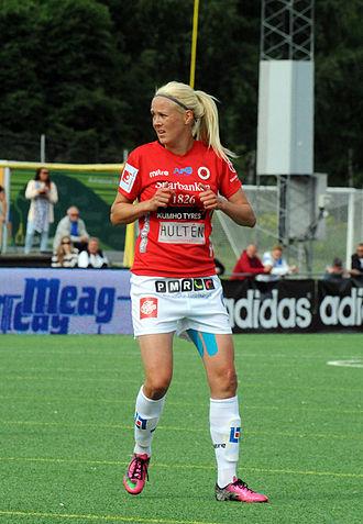 Kristianstads DFF - KDFF's Josefine Öqvist in June 2013