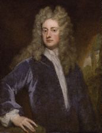 "1704 in poetry - Joseph Addison, the ""Kit-cat portrait"", circa 1703–1712, by Godfrey Kneller"