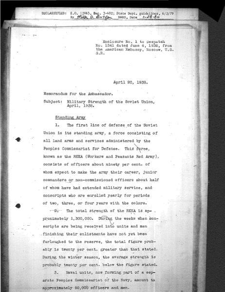 File:Joseph Davies Memorandum regarding Military Strength of the Soviet Union.djvu