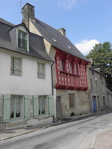 Maison inscrite sise 3 rue des Devins à Josselin (56).