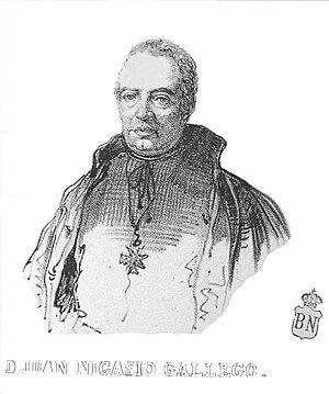 Gallego, Juan Nicasio (1777-1853)