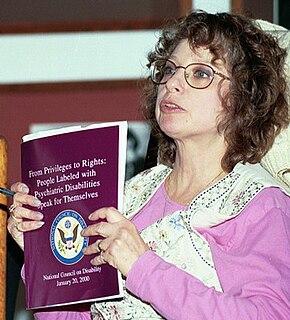 Judi Chamberlin Psychiatric Survivor Activist