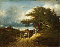 Jules Dupré - Sur le chemin (1856).jpg