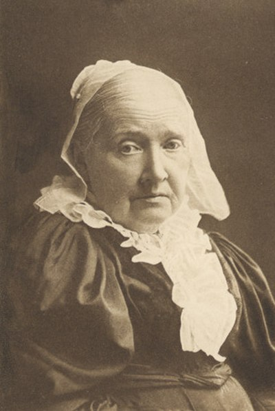 Julia Ward Howe, 20th-century American abolitionist, social activist, and poet