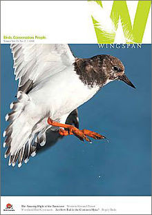 June 2011 cover of Wingspan magazine.jpg