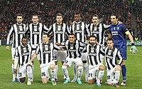 Juventus FC 2012-2013 players (Shakthar Donetsk - Juventus).jpg