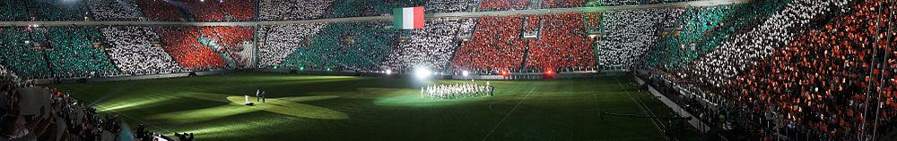 Домашний стадион ювентус