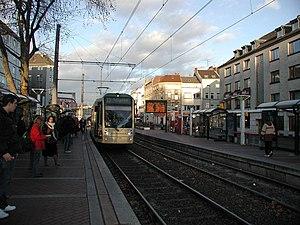 Köln-Ehrenfeld station - Venloer Straße/Gürtel at-grade station