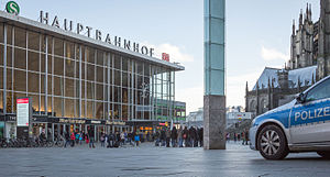 Cologne's main train station, where hundreds of women reported sexual  assaults on New Year's Eve 2016