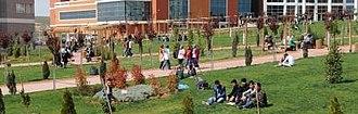 Kilis 7 Aralık University - Students at Kilis 7 Aralık University Square
