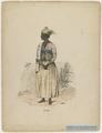 "KITLV - 36C352 - Bray, Th. - Petit - ""Plantation negresse in dance attire"" - Colour lithography - 1850.tif"