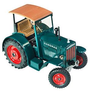 Kaden models - Pressed tin KOVAP Hanomag R 40 tractor.