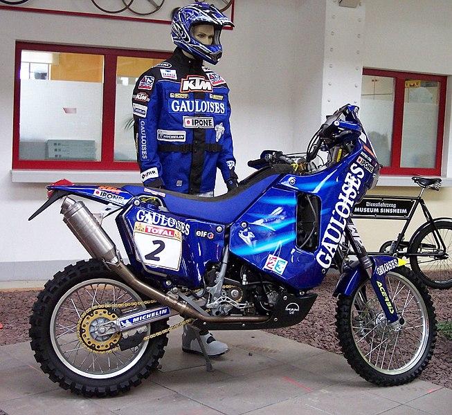Ktm Dakar Rally Bike
