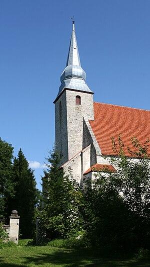 Kaarma-Kirikuküla - Kaarma Church in Kirikuküla.