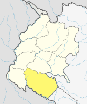 Location of Kailali District