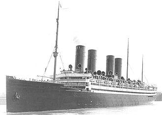 SS Kaiser Wilhelm II - SS Kaiser Wilhelm II