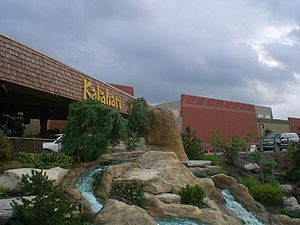 Sandusky, Ohio - Kalahari, an African themed indoor waterpark just outside Sandusky