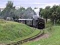 Kamenice nad Lipou, železniční trať, vlak s lokomotivou U 37.002 (01).jpg
