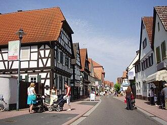 Kandel - Town centre