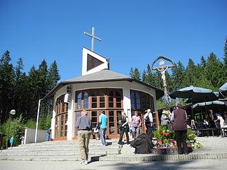 Turzovka - Image: Kaple Panny Marie na Živčákově hoře