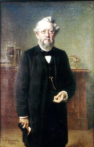 Karl Möbius - Portrait by Ernst Hildebrand (1895)