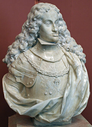 Paul Strudel - Marble bust of Charles II of Spain, 1695 (Kunsthistorisches Museum).