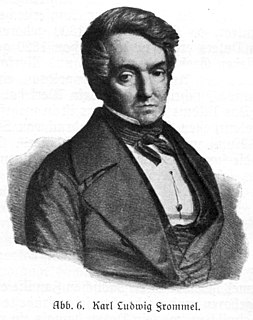 image of Carl Ludwig Frommel from wikipedia