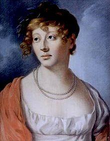 Karoline Jagemann als Ion. Gemälde um 1803 von Jakob Wilhelm Christian Roux. (Quelle: Wikimedia)