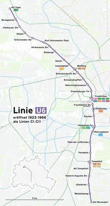 U6 Berlin U Bahn Wikipedia