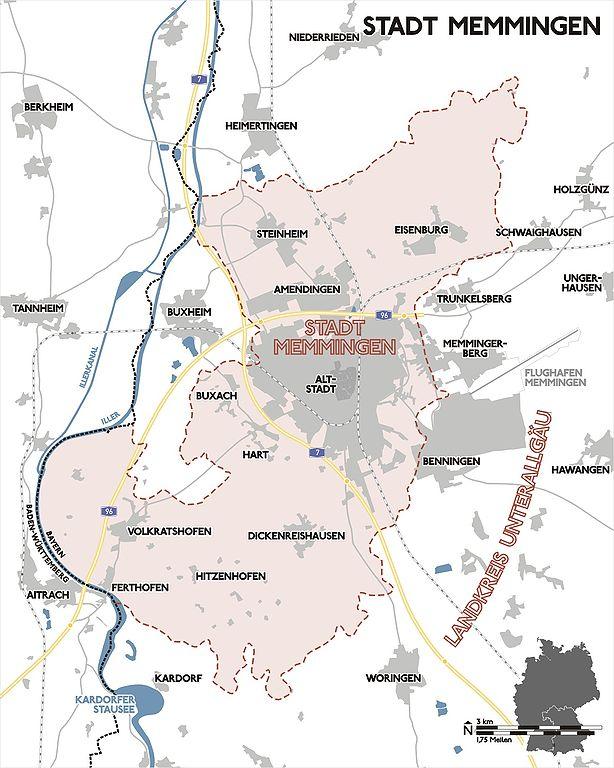 Datei Karte Memmingen2 Jpg Wikipedia