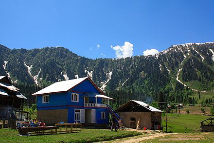 Azad Kashmir is part of Pakistan-controlled Kashmir. Kashmir 3.jpg